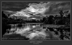 Gothic Sunset. Even cloudy days can be beautiful. Prints available at www.JNFineArt.com