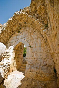 Namrud Fortress . Israel