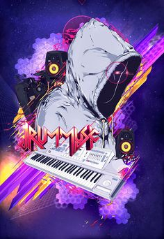 ▲ ▲ ▲ JRum Poster commissioned by producer JRum.