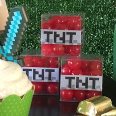 Minecraft Birthday Party Candy Party Favors hellodesignlovecom