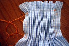 Pleating Without A PleaterCreations By Michie` Blog: