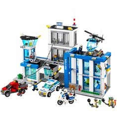 Buy LEGO City Police Police Station securely online today at a great price. LEGO City Police Police Station available today at Toys Special Offer. Buy Lego, Legos, Shop Lego, Lego Man, Lego City Police Station, Lego Police, Police Police, Police Party, Lego City