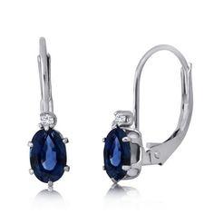 10k White Gold Sapphire and Diamond Leverback Earring JewelExcess,http://www.amazon.com/dp/B009XCYNIG/ref=cm_sw_r_pi_dp_KqETrbCFF2B8499C