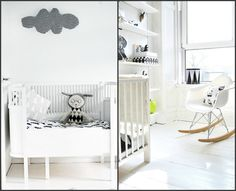 Looking at black and white nurseries on the blog  www.alphabetmonkey.com.au
