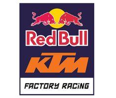 Logo KTM Red Bull Factory Racing Download Vector