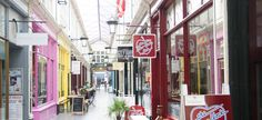 High Street Arcade; home to the best choices of boutique fashion and the famous New York Deli.