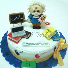 Torta fondant. Albert Einstein
