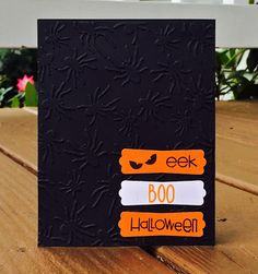 Lindsey @ Occasional Crafting: Oct '15 12 Kits of Occasions Halloween Boo, Welcome, Crafting, Kit, Paper, Cards, Crafts To Make, Crafts, Handarbeit