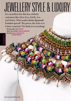 www.cewax.fr love this statement necklace ethno tendance, style ethnique, #Africanfashion, #ethnicjewelry - CéWax aussi fait des bijoux : http://www.alittlemarket.com/collier/fr_collier_plastron_multi_rang_ethnique_en_tissu_africain_beige_prune_jaune_-15921837.html -  Anita Quansah London