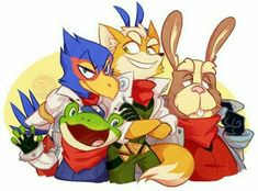 Star Fox Video Game, Shining Tears, Fox Mccloud, Fox Games, Fox Pictures, Chibi, Animal Crossing Characters, Wolf, Fox Art