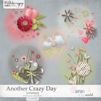 Another Crazy Day Overlays by Lara´s Digi World