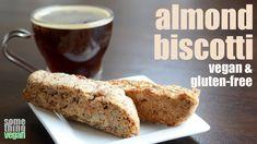 almond biscotti (vegan & gluten-free) Something Vegan