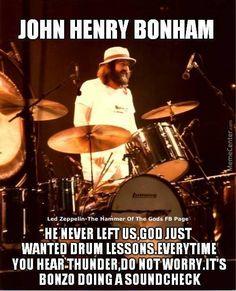 John Bonham Led Zeppelin Memes by - A Member of the Internet's Largest Humor Community Music Love, Rock Music, Music Mix, Drums Quotes, El Rock And Roll, Rap, Robert Plant Led Zeppelin, John Bonham, Drum Lessons