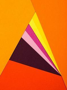 Creative Abstract, Pantones, Carl, Kleiner, and Paper image ideas & inspiration on Designspiration Geometric Designs, Geometric Art, Art Furniture, Foto Still, Graphic Art, Graphic Design, Simple Art, Op Art, Colour Images