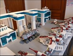 Lego star wars clone base:) (not mine)