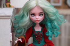 Custom Monster High Dolls, Monster High Repaint, Monster Dolls, Custom Dolls, New Dolls, Ooak Dolls, Pretty Dolls, Beautiful Dolls, Bjd