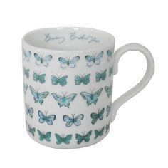 'busy butterflies' china mug by sophie allport | notonthehighstreet.com