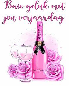 Birthday Wishes Greetings, Happy Birthday Messages, Birthday Quotes, Happy Birthday Pictures, Afrikaans, Birthdays, Bottle, Cards, Decor