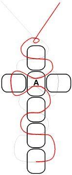 Solar Cross Bead Pattern                                                                                                                                                                                 More