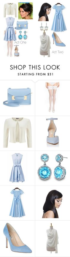 """Eliza Schuyler"" by sleepingmunich on Polyvore featuring Sophie Hulme, Wolford, Phase Eight, Chicwish, WithChic, Donna Bella Designs, L.K.Bennett, NOVICA and DaVonna"