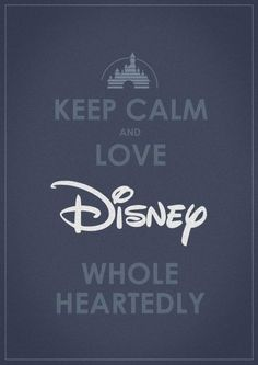 Love Disney Whole Heartedly <3