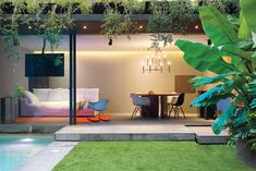 1970's House in Mexico City Recast for Indoor-Outdoor Living