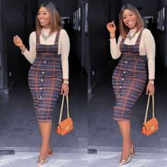 2019 Beautiful Casual Work Inspirations for Women Ankara Dress Styles, African Fashion Ankara, Latest African Fashion Dresses, African Dresses For Women, African Print Fashion, Latest Fashion, Look Fashion, Fashion Outfits, Classy Work Outfits