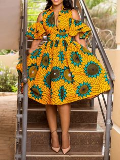 "Today we bring to you ""Pleasing Ankara Gowns to Copy."" These Ankara gowns are unique and they are pleasing. They are so pretty and lovely. Check them out and have blissful day ahead. African Fashion Designers, African Fashion Ankara, Latest African Fashion Dresses, African Print Fashion, Africa Fashion, African Style, Ghanaian Fashion, African Inspired Fashion, Tribal Fashion"