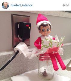 Hi Sugarplum   Elf on a Shelf