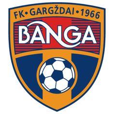 1966, FK Banga Gargždai (Lithuania) #FKBangaGargždai #Lithuania (L10691) Soccer Logo, Football Team Logos, Soccer Teams, Fifa, European Cup, Sports Clubs, Team Player, Sports, Lithuania