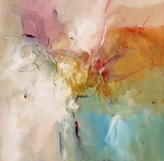 """""""The Source of Wisdom,"""" original abstract painting by artist Barbara Krupp (USA) available at Saatchi Art #SaatchiArt"""