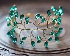 61 Green bracelet Emerald jewelry Emerald crystal bracelet Jewelry gold Wedding bracelet Delicate jewelry Wedding jewelry Twigs bracelet - Emerald Crystals bracelet, Wedding bracelet, Green Bridal Bracelet, Gold bridal bracelet, Crystals b - Emerald Jewelry, Gold Jewelry, Beaded Jewelry, Bridal Bracelet, Wedding Jewelry, Gold Wedding, Wedding Bracelets, Green Wedding, Ruby Bracelet