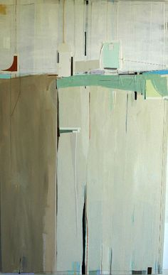 """rene' norman    """"a piece of the past that led to the future"""" 60x36/ acrylic on canvas"""
