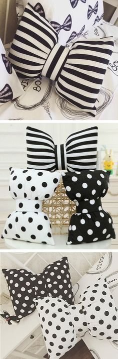 cUte Bowknot Pillows ❤︎                                                                                                                                                     More