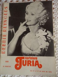 CARTELERA TURIA. Nº 648. AÑO 1976. DEBBIE REYNOLDS