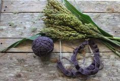 100% merino Passionfruit Harvest Wool by Timber and Twine