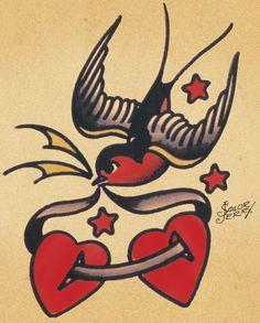 sailor jerry tattoos sparrow