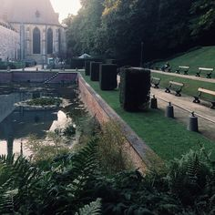 La Cambre Abbey, a really nice place to rest in #Brussels http://visitbrussels.be/bitc/BE_en/monument/705/abbaye-de-la-cambre.do