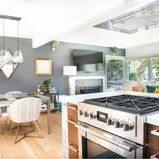 Oakland Modern Remodel & Decorating - Modern - Kitchen - San Francisco - by Lauren's Interiors Florida Decorating, Modern Decor, San Francisco, Interiors, Kitchen, Table, Furniture, Home Decor, Cooking