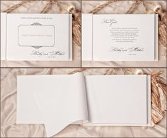 Shabby Chic Wedding Guest Book Idea - MODwedding