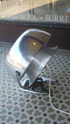 rare Chrome-plated antique ART DECO machine age industrial Vornado fan 1930s | eBay