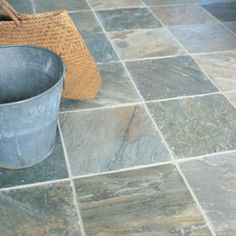 Pale Classic Quartz - Diamond Sawn Edge, Riven - Fired Earth Fired Earth, Slate Flooring, Bathroom Flooring, Flooring Ideas, Wall And Floor Tiles, Wall Tiles, Slate Patio, Bathroom Shop, Bathrooms