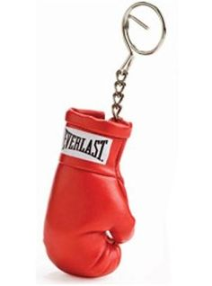 Engraved On The Back Personalised Boxing Gloves Design Keyring Keychain
