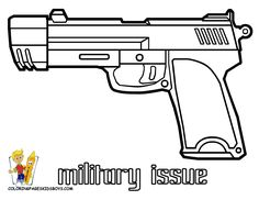 printable pistol coloring pages army coloring picture army military free army