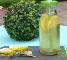 Boisson Rafraichissante Verveine Citron #MyCookDiary