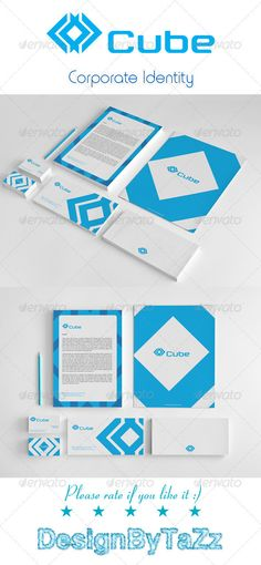 Cube Corporate Identity Package