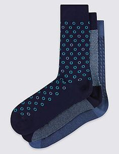 3 Pairs of Assorted Socks