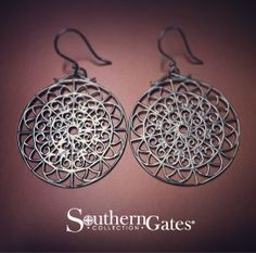 New for Spring: Art Deco #southerngates Earrings (E480)