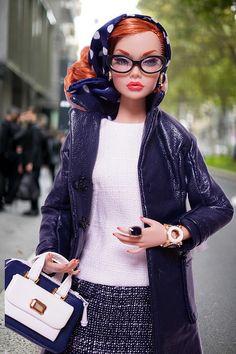 Model Living fashion | RockWan FR | Flickr Bad Barbie, Barbie Life, Barbie World, Barbie Style, Beautiful Barbie Dolls, Vintage Barbie Dolls, Fashion Royalty Dolls, Fashion Dolls, Blonde Redhead