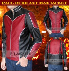 New Ant Man jacket for sale. This Paul Rudd Jacket for sale at discounted price at our online store fit jackets!!  #AntMan #PaulRudd #MovieJacket #Halloween #Shopping #Hot #Sexy #Fashion #Stylish #MensOutfit #StyleMens #Sale #MensClothing #MensFashion